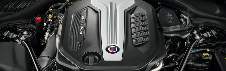Двигатели BMW Alpina 5