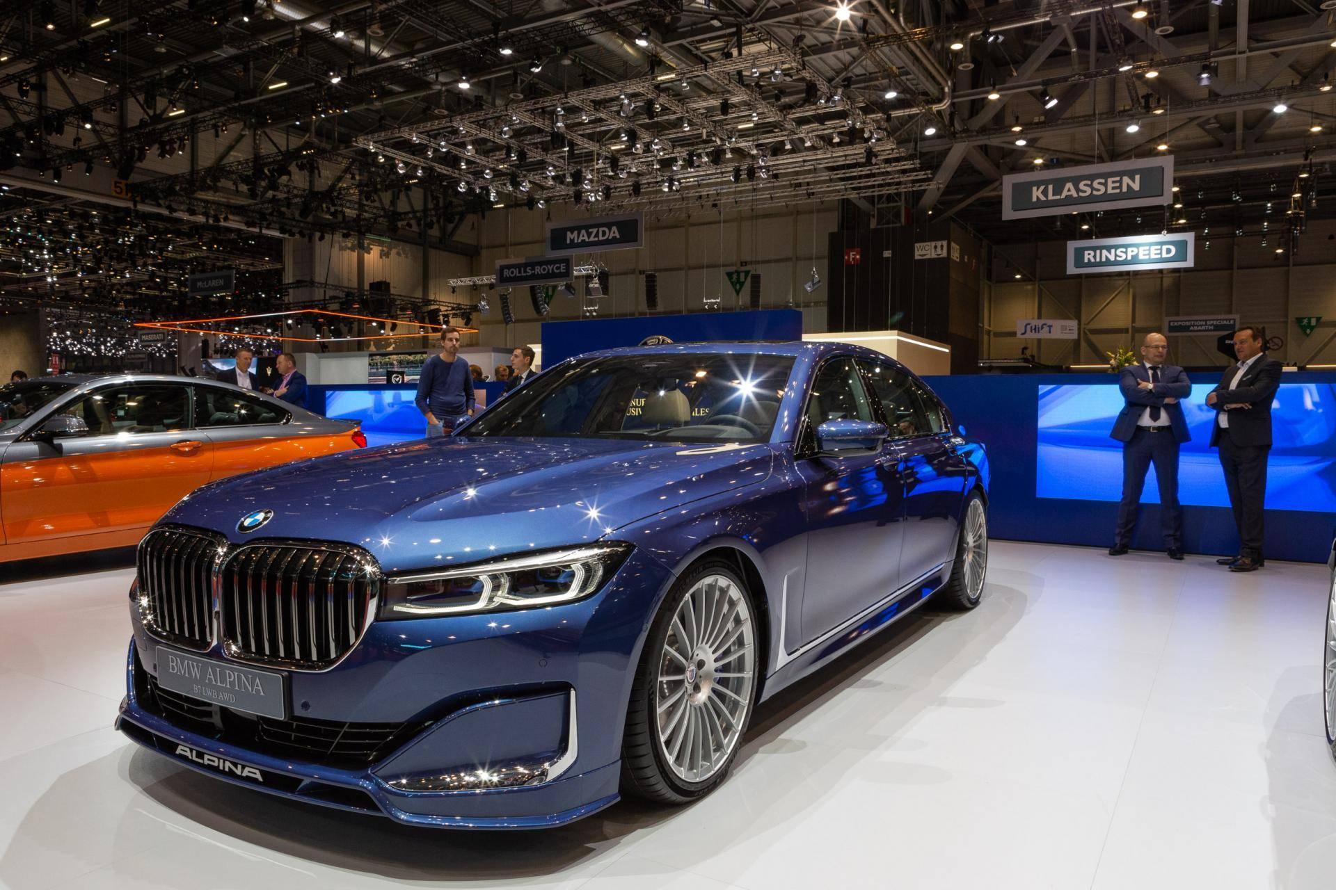 Двигатели BMW Alpina 2
