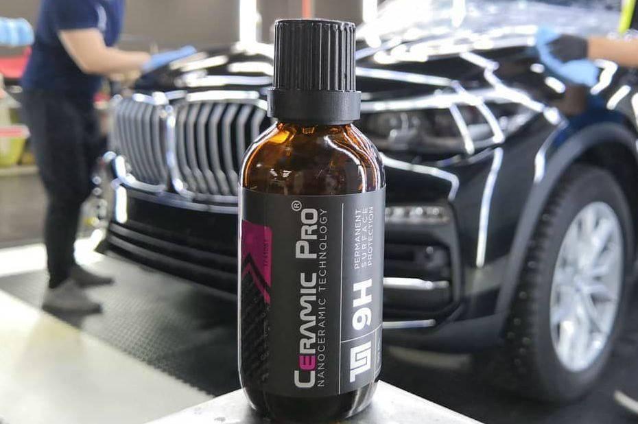 Безупречная защита вашего BMW керамикой Ceramic Pro 1