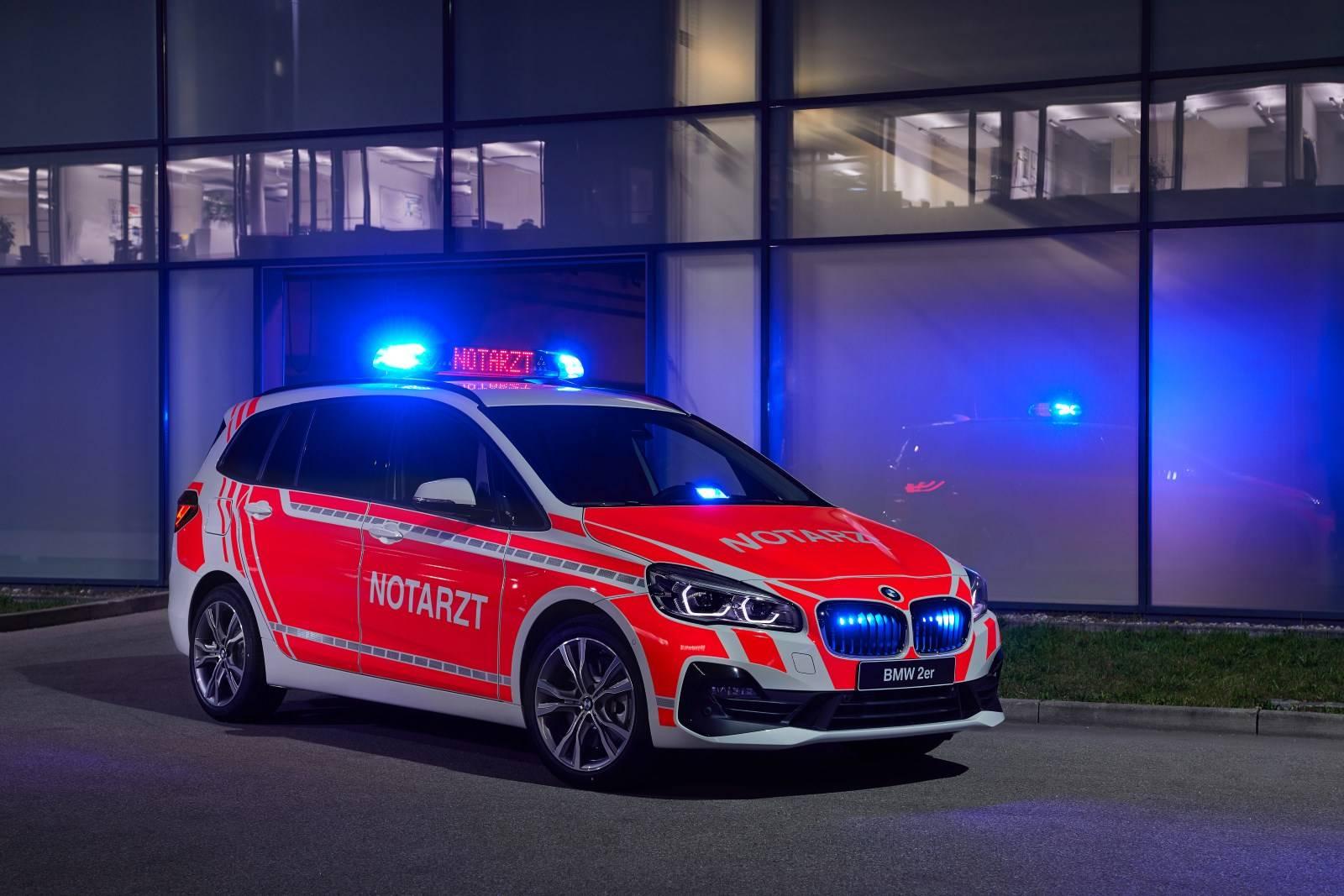 Скорая помощь BMW