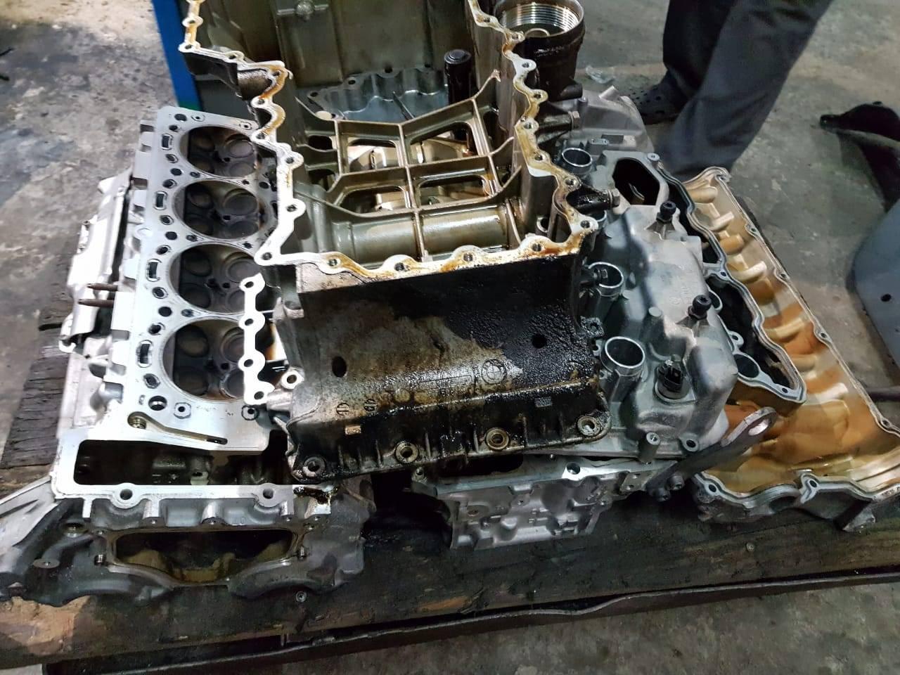 Капитальный ремонт двигателя N63 на BMW F10 550iX