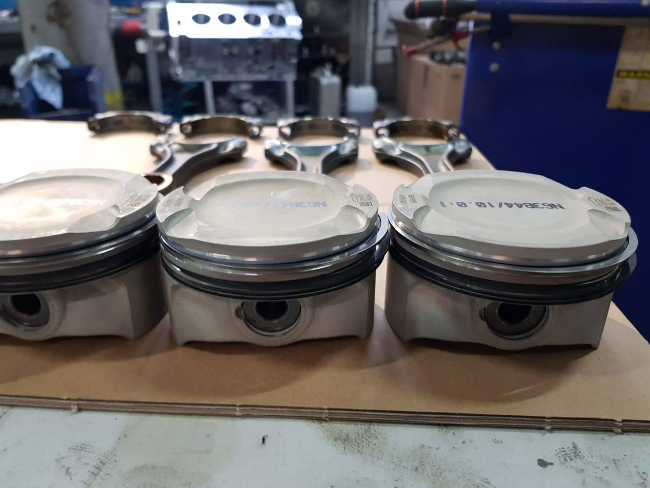 Капитальный ремонт двигателя N63 на BMW F10 550iX 9