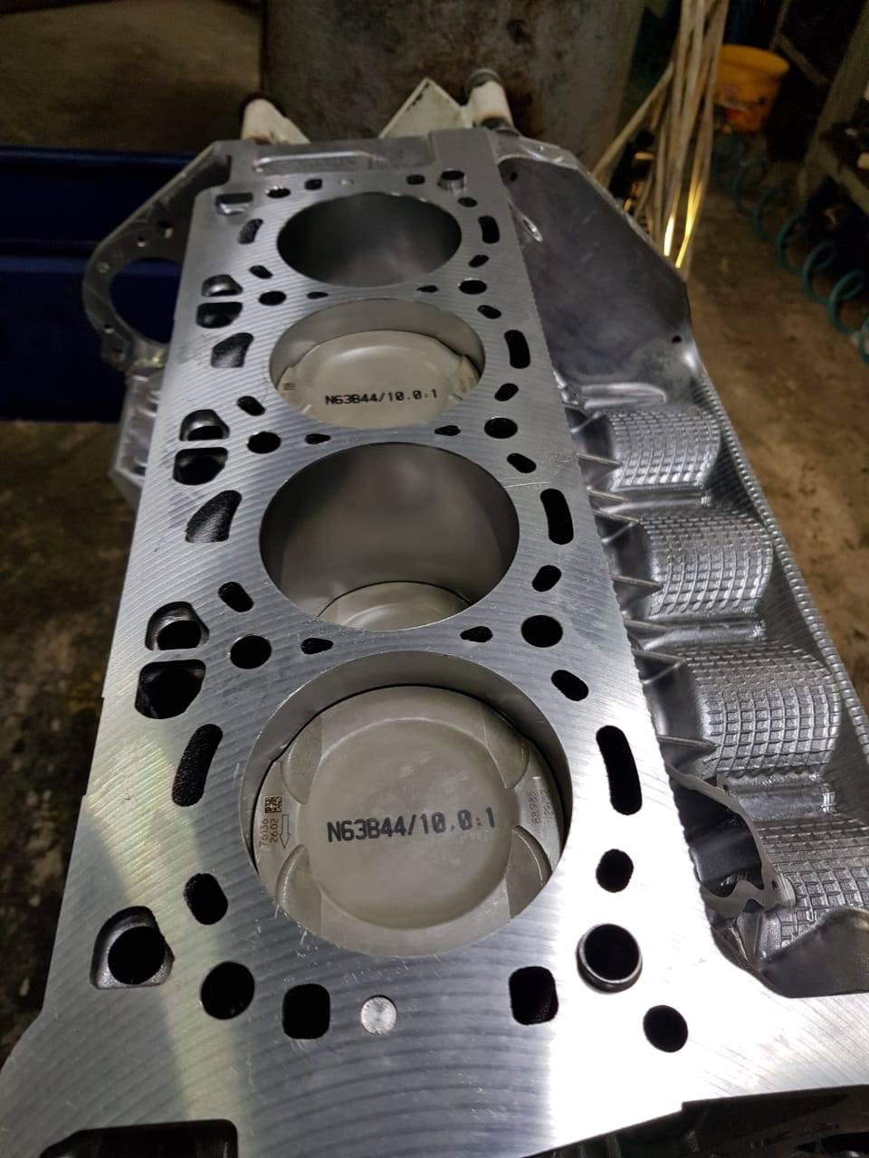 Капитальный ремонт двигателя N63 на BMW F10 550iX 11