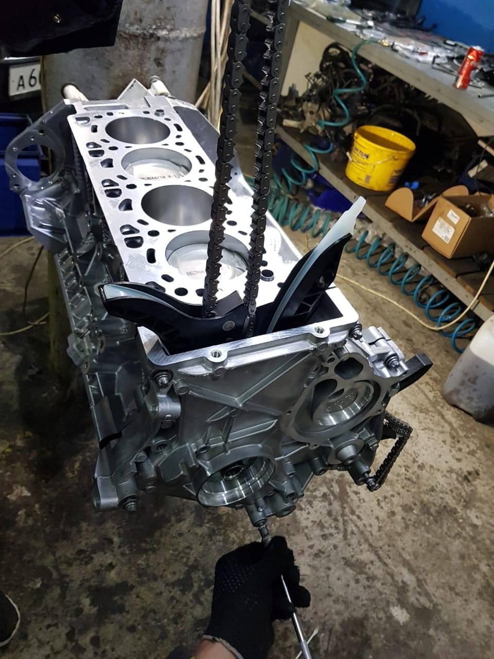 Капитальный ремонт двигателя N63 на BMW F10 550iX 12