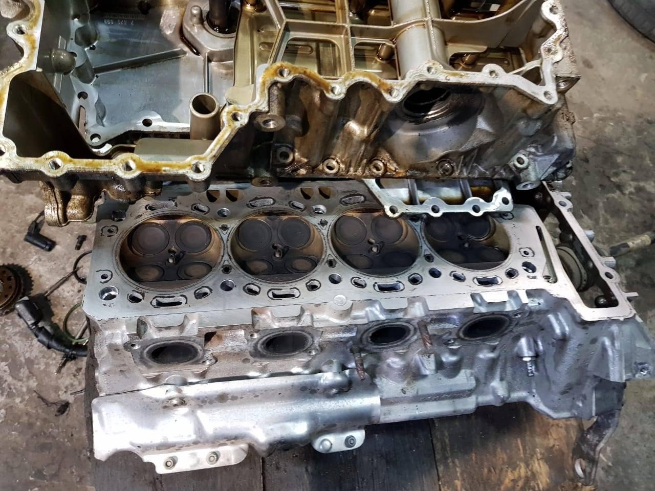 Капитальный ремонт двигателя N63 на BMW F10 550iX 1