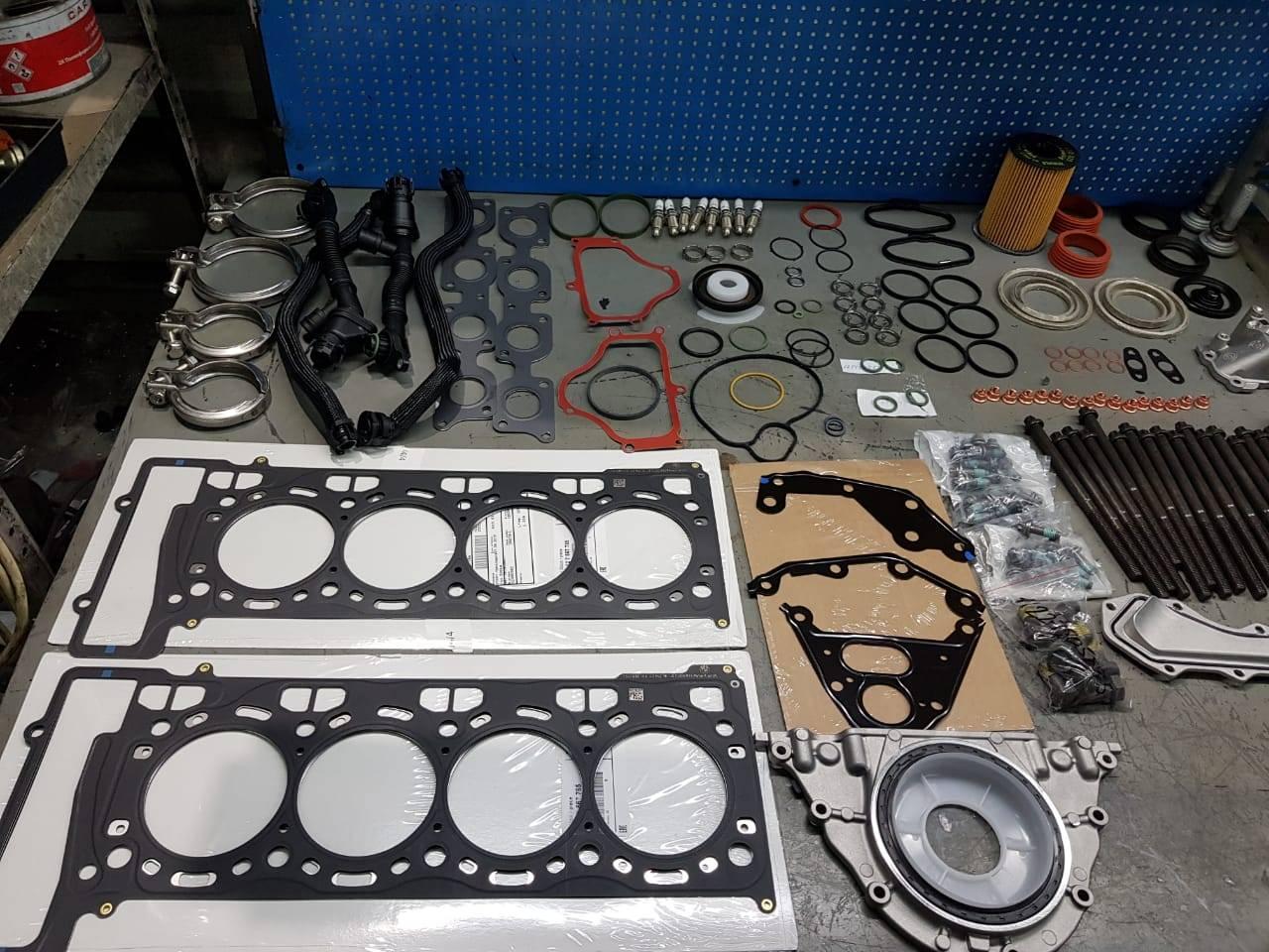 Капитальный ремонт двигателя N63 на BMW F10 550iX 4