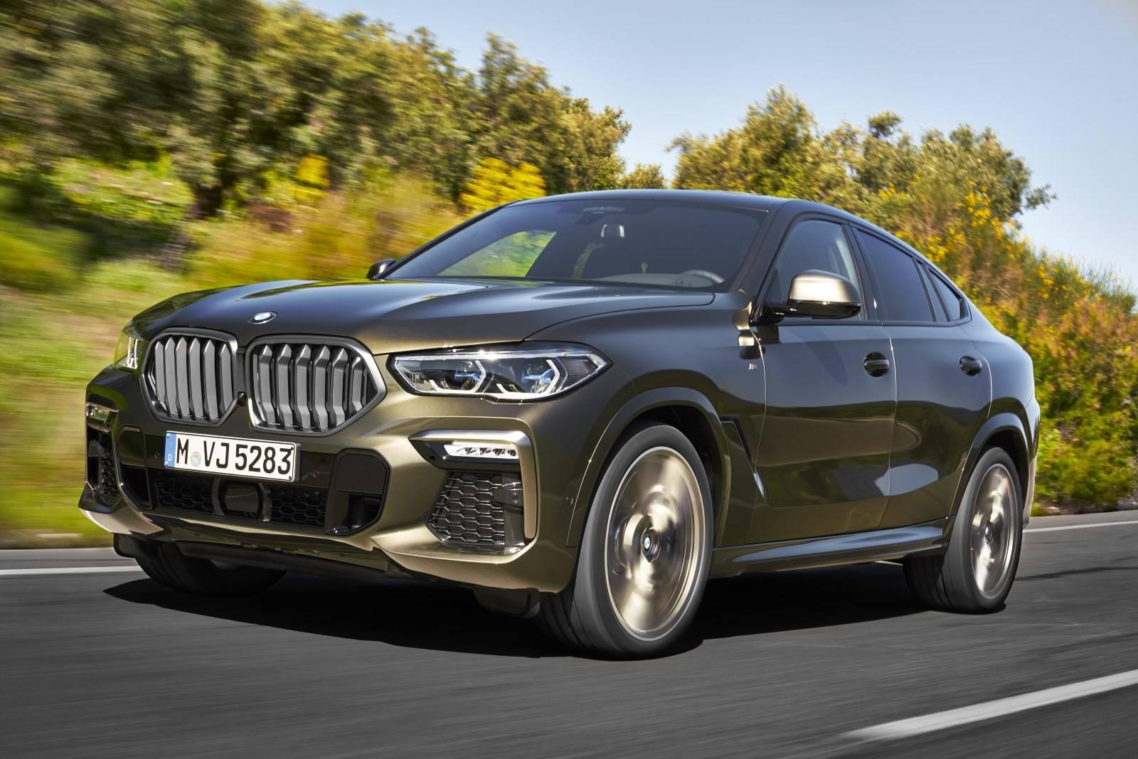 G06 - новый BMW X6 1