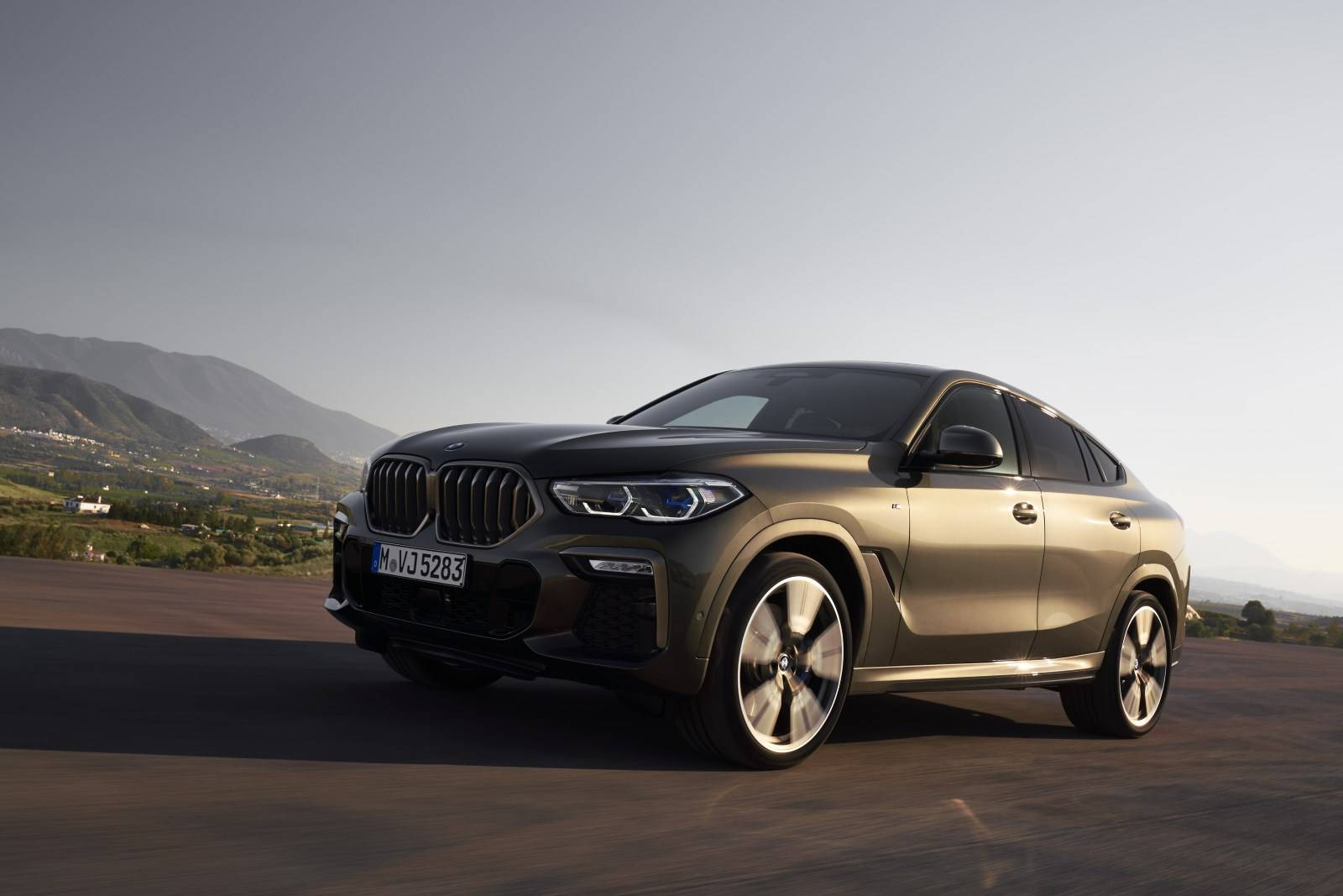 G06 - новый BMW X6 2