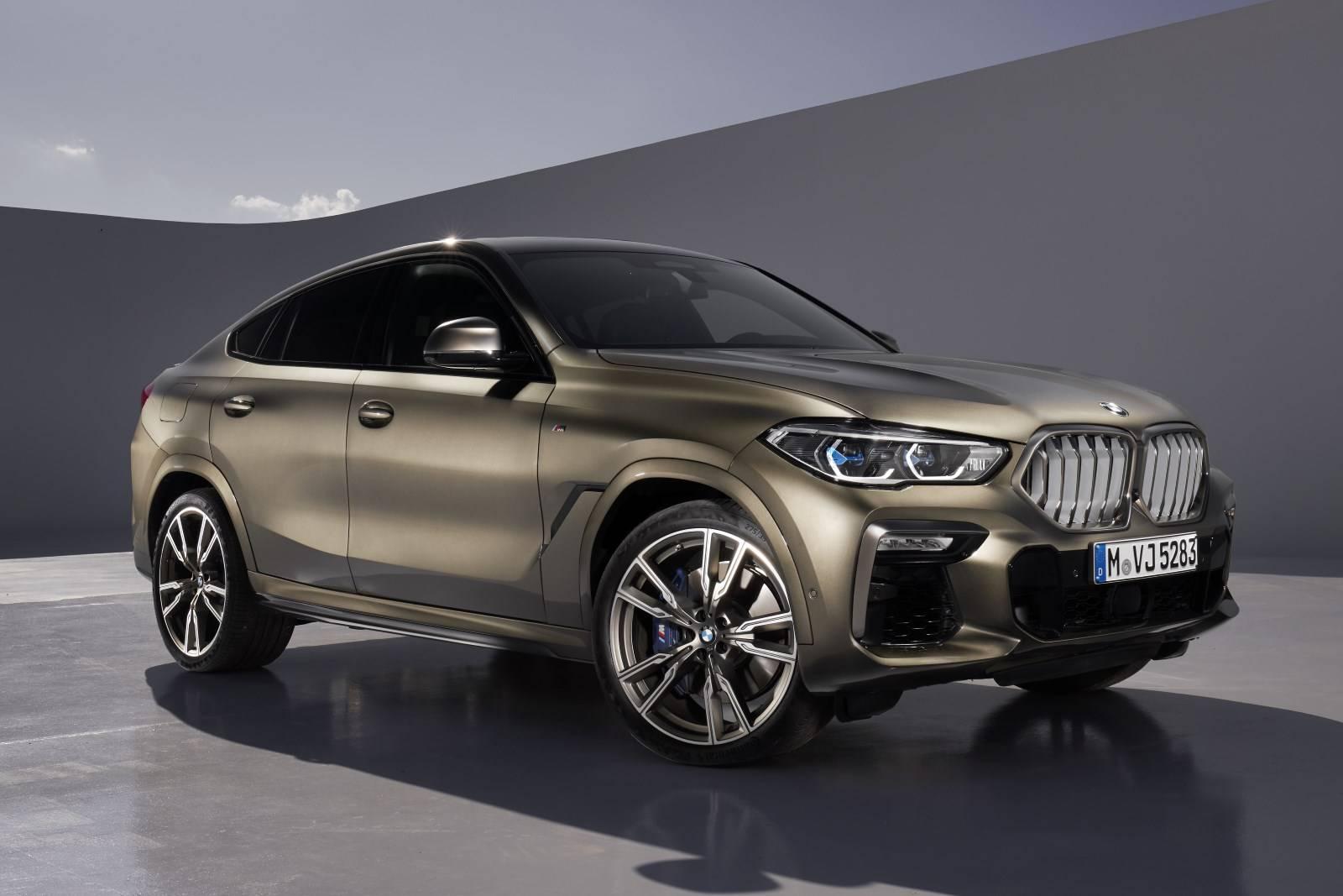 G06 - новый BMW X6 3