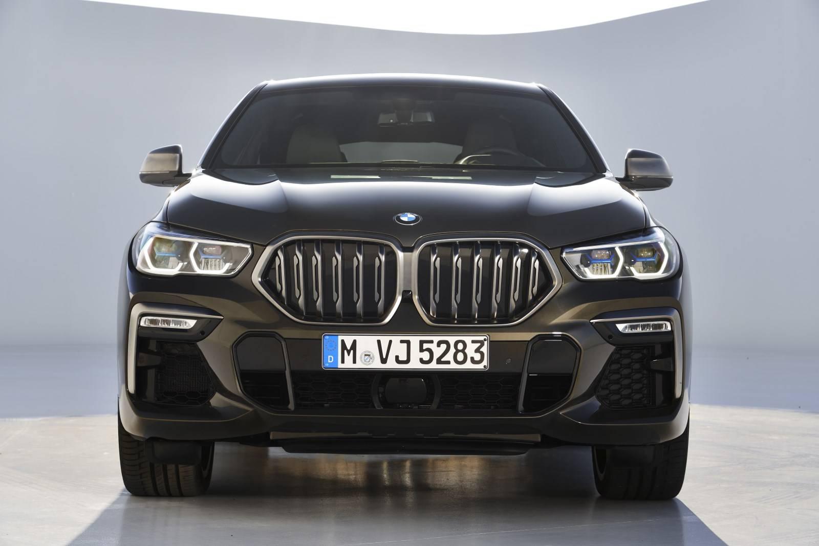 G06 - новый BMW X6 6