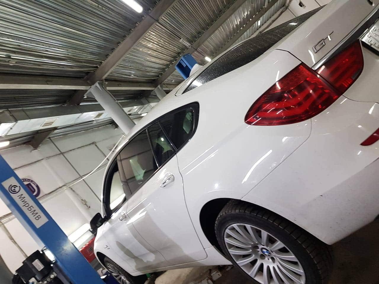 замена приводного вала на BMW F07 GT
