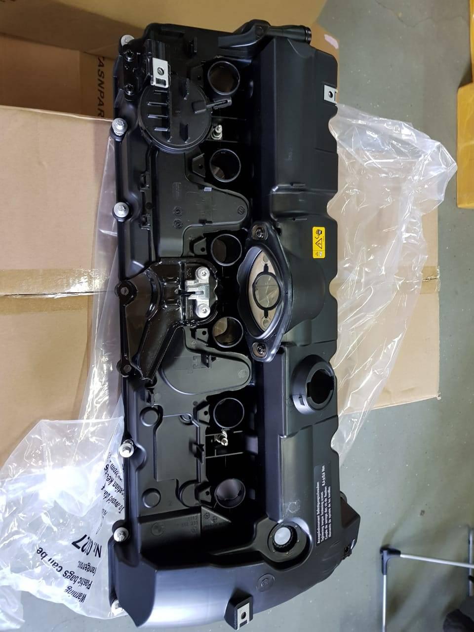 Замена клапанной крышки двигателя N52 на BMW X5 E70 7