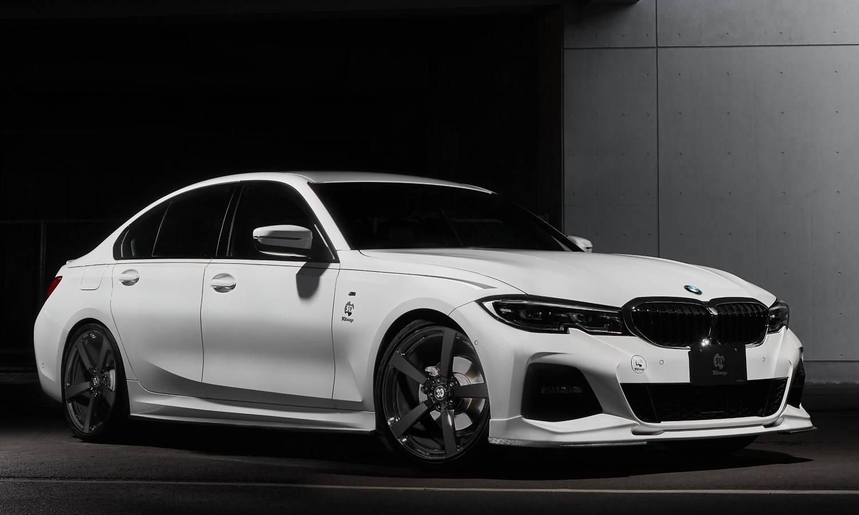 BMW G20 320i B48 с тюнинг-пакетом от 3D Design 1