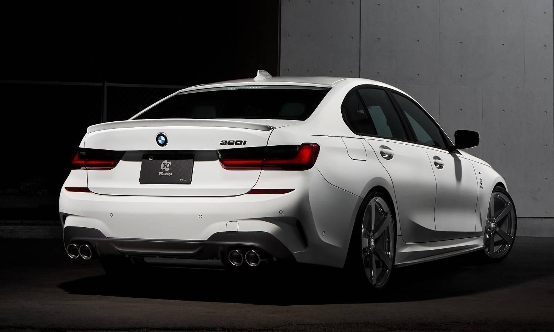BMW G20 320i B48 с тюнинг-пакетом от 3D Design 2