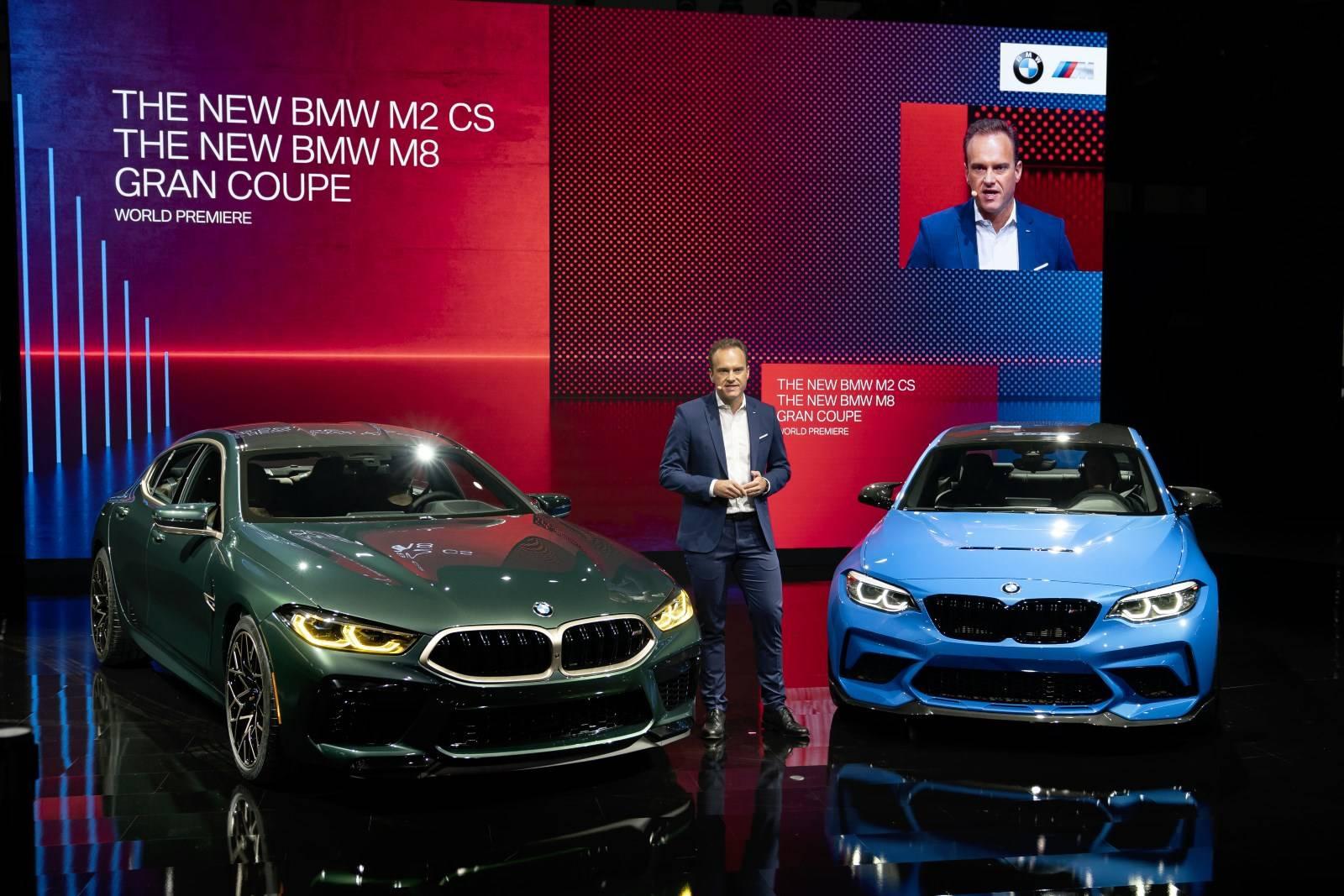 BMW M в Лос-Анджелесе: BMW M8 Gran Coupe иBMW M2 CS 1