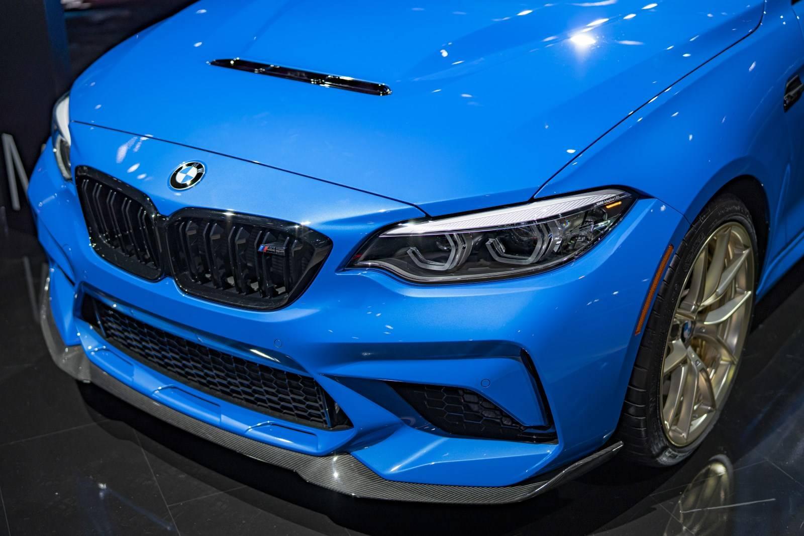 BMW M в Лос-Анджелесе: BMW M8 Gran Coupe иBMW M2 CS 3
