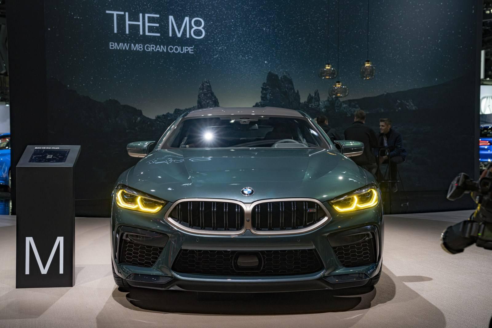 BMW M в Лос-Анджелесе: BMW M8 Gran Coupe иBMW M2 CS 2