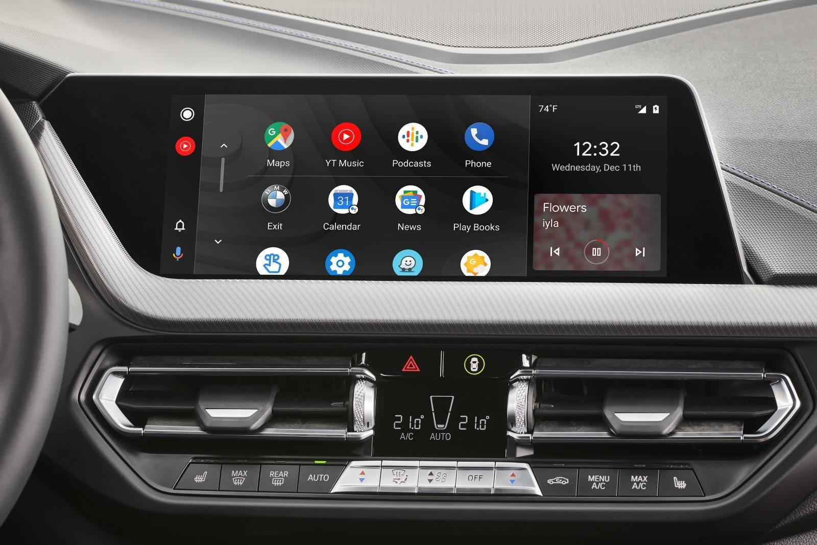 Android появится на BMW в 2020 году