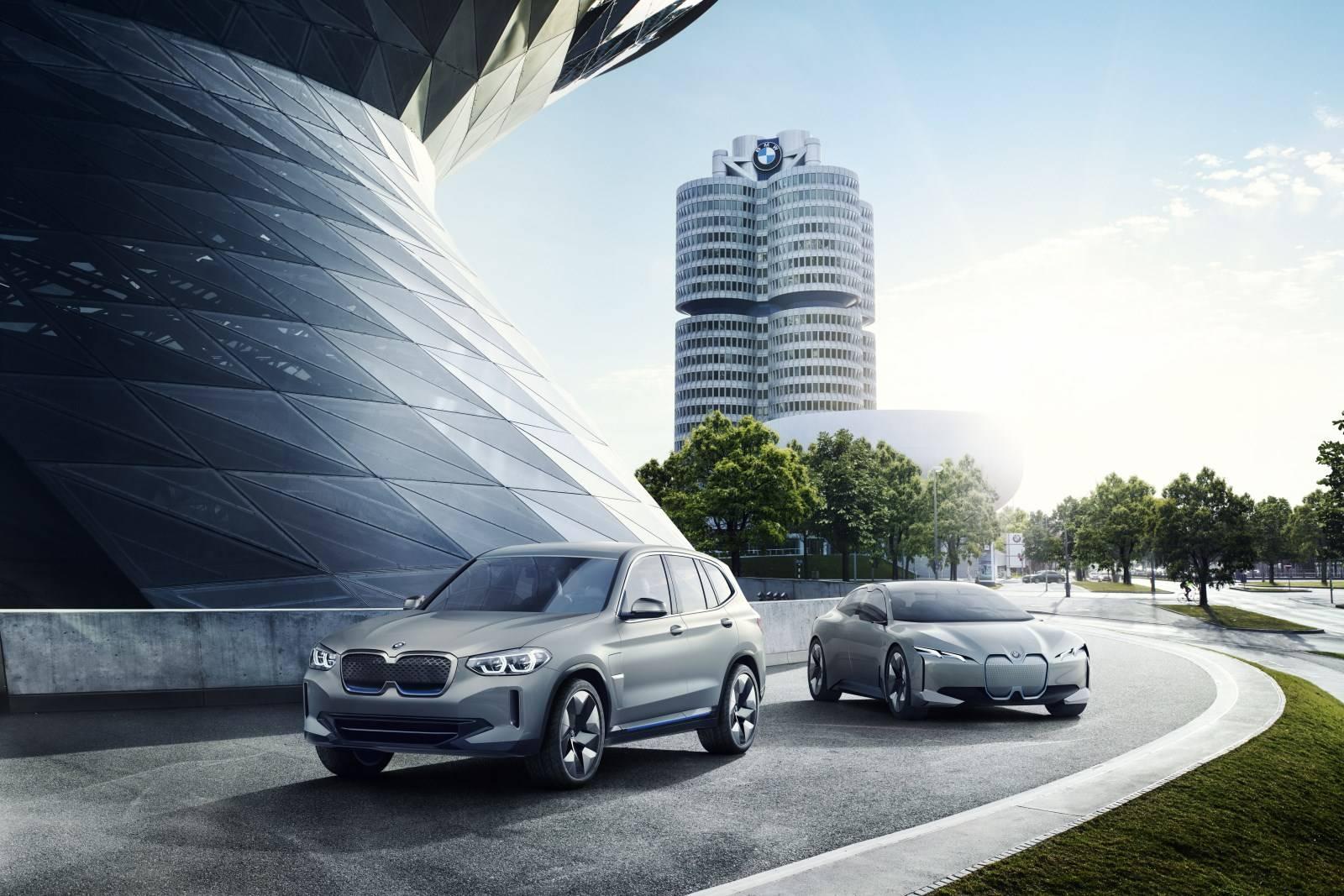 Электрокроссовер BMW iX3 с новой трансмиссией eDrive