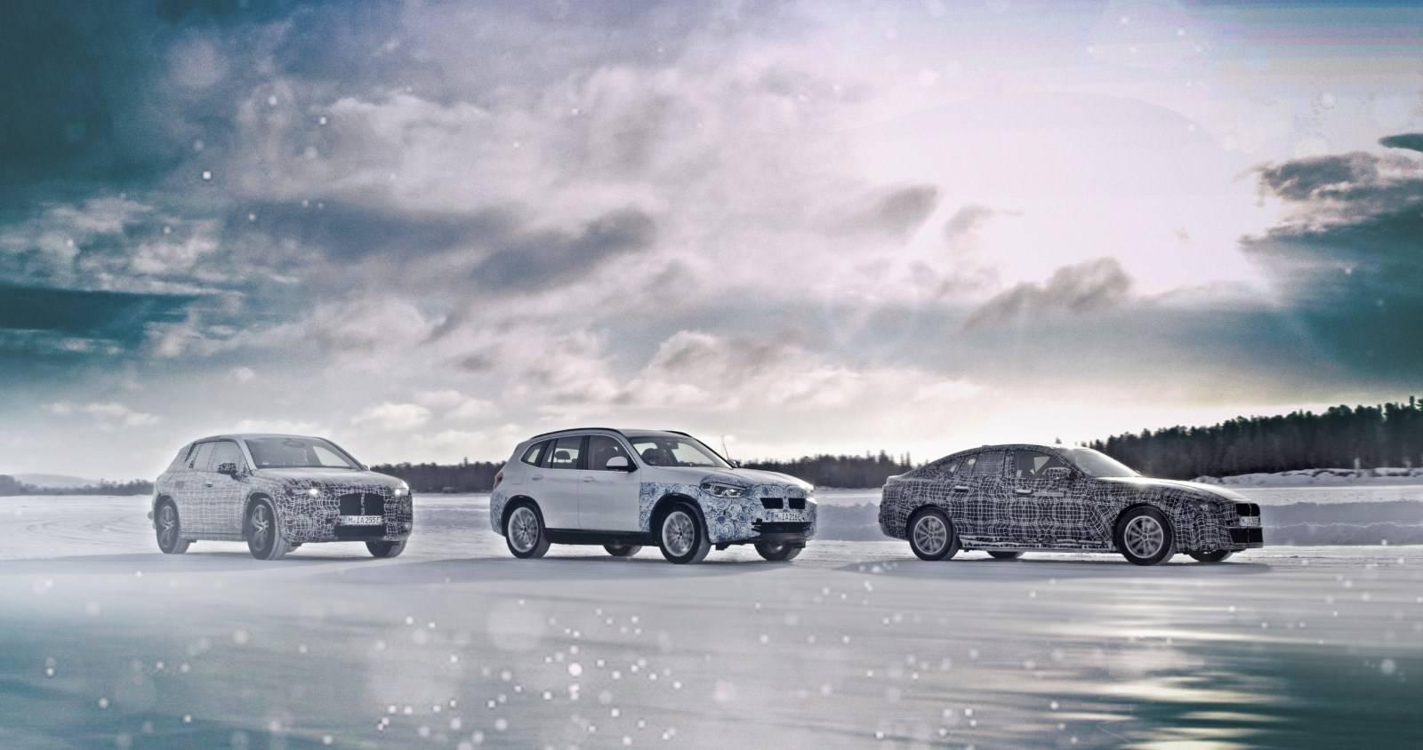 Электрокроссовер BMW iX3 с новой трансмиссией eDrive 4