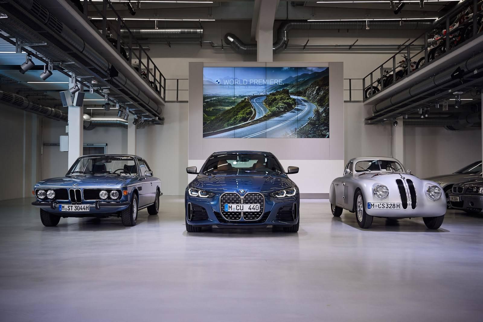 BMW 4 Series Coupe G22 - кардинально новый дизайн 1