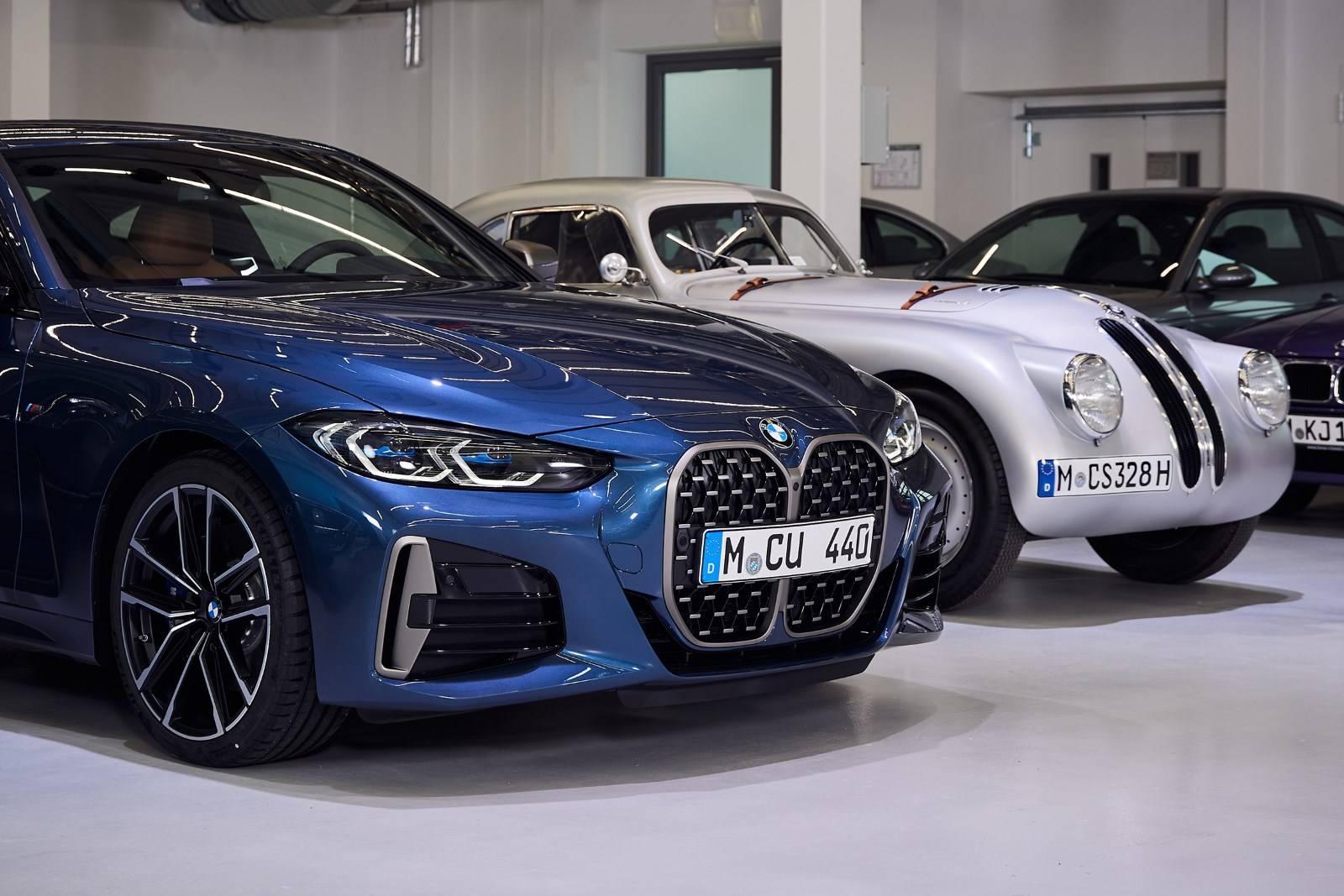 BMW 4 Series Coupe G22 - кардинально новый дизайн 2