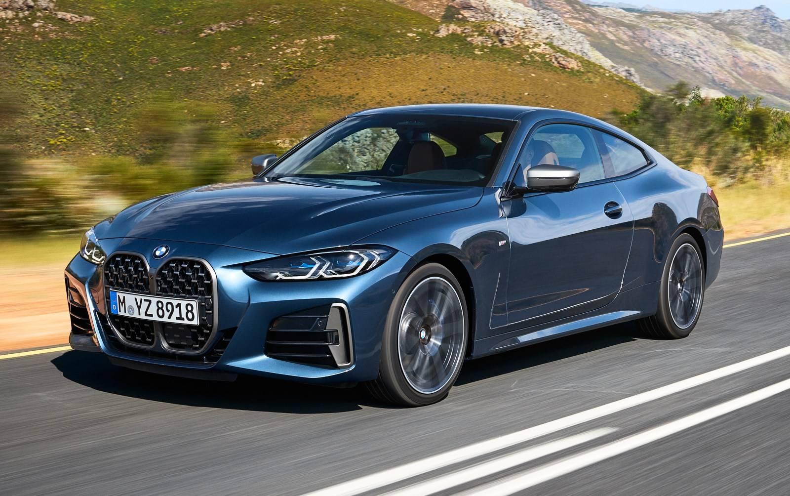 BMW 4 Series Coupe G22 - кардинально новый дизайн 4