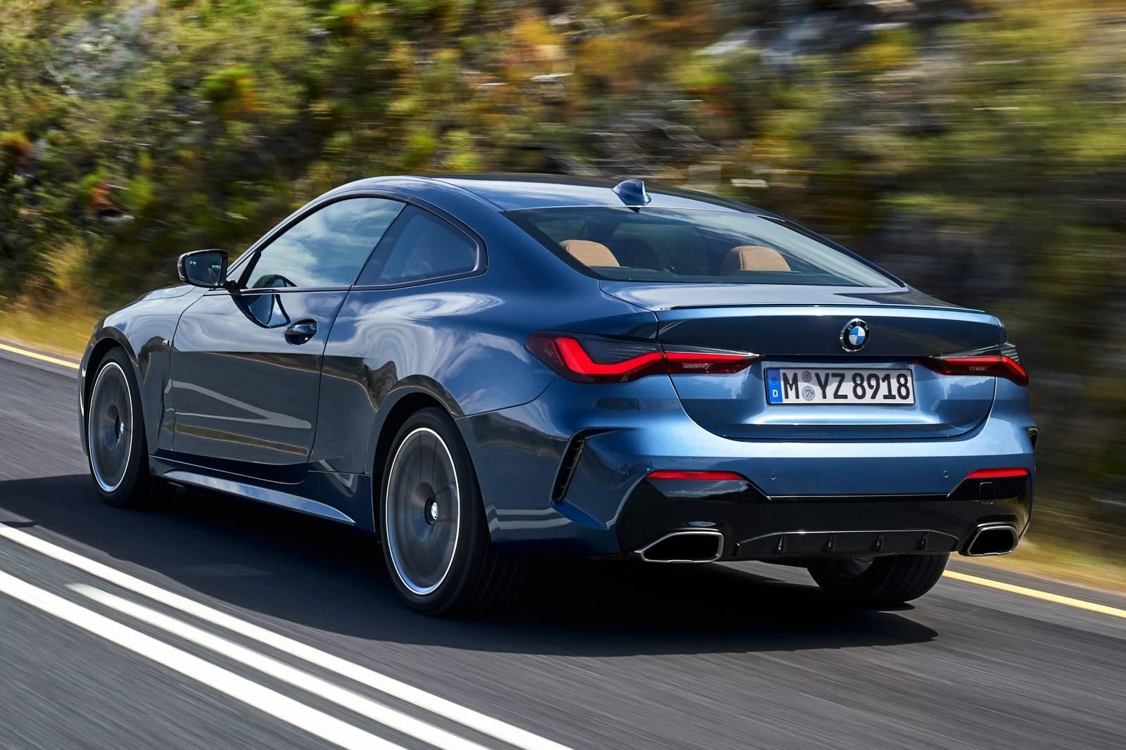 BMW 4 Series Coupe G22 - кардинально новый дизайн 5