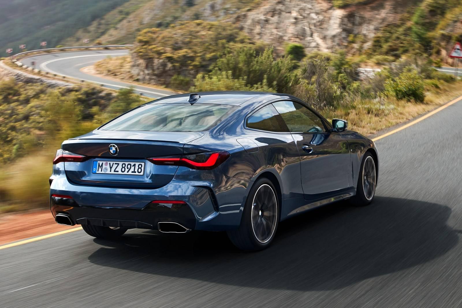 BMW 4 Series Coupe G22 - кардинально новый дизайн 6