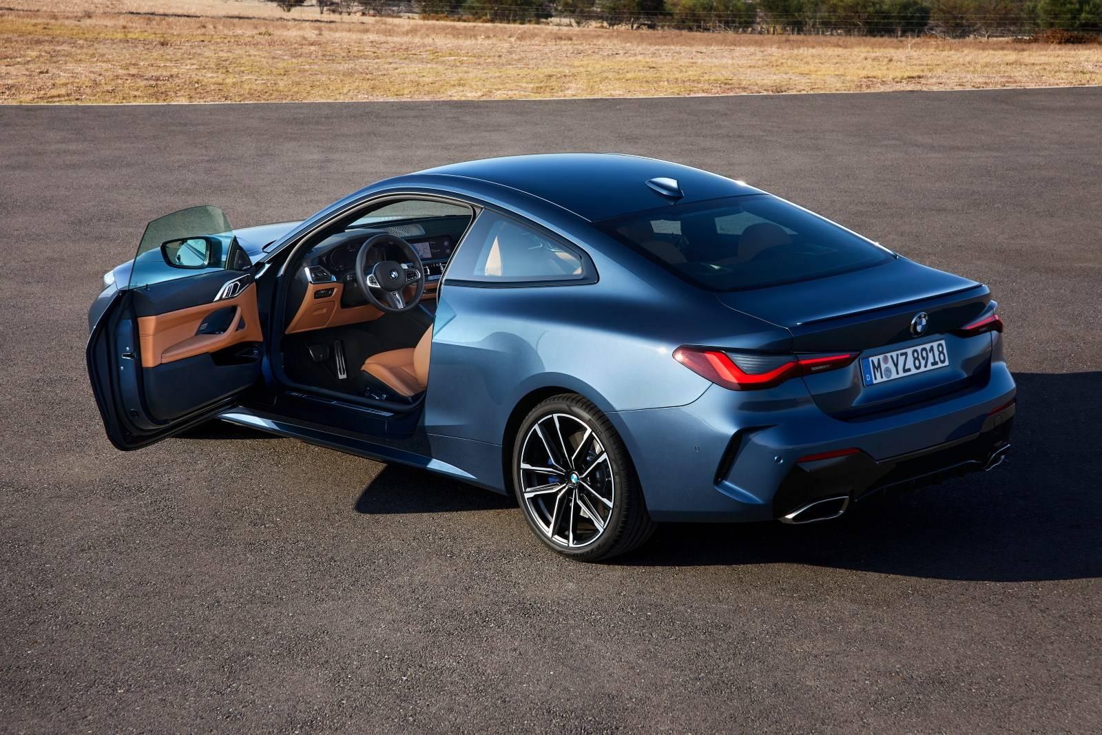 BMW 4 Series Coupe G22 - кардинально новый дизайн 7