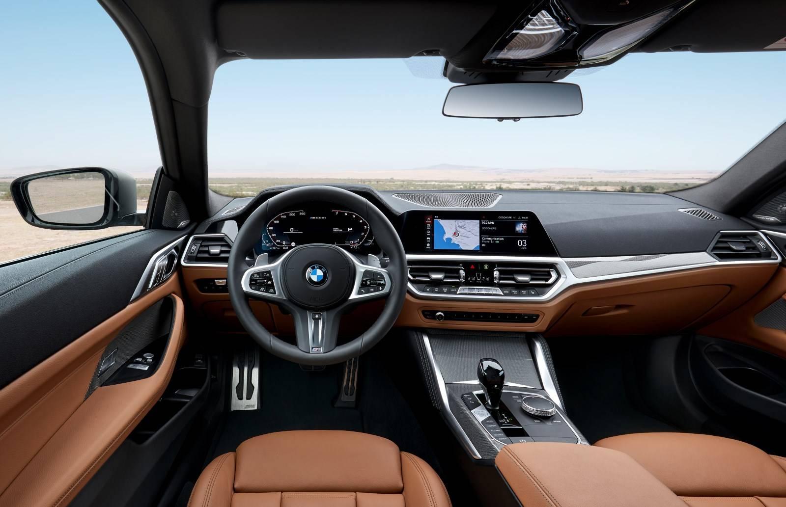 BMW 4 Series Coupe G22 - кардинально новый дизайн 8