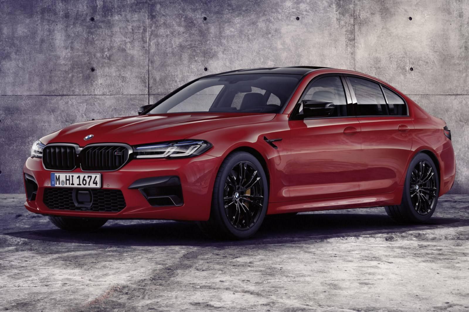 BMW M5 и BMW M5 Competition - рестайл F90 1