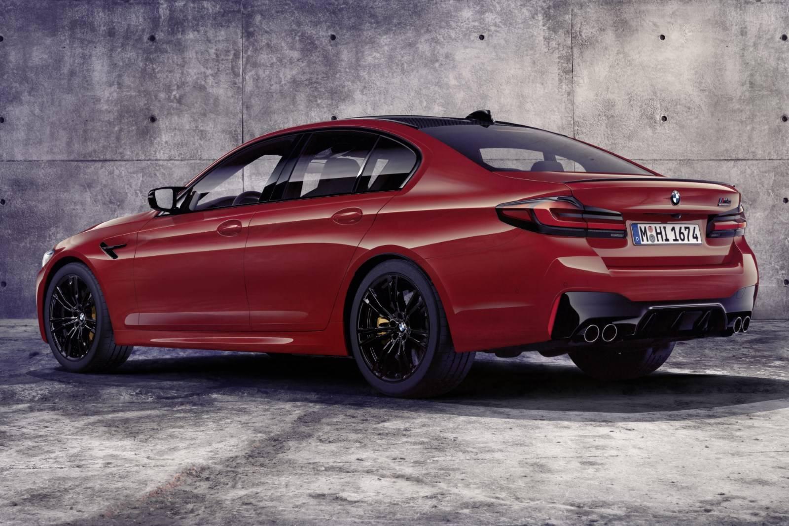 BMW M5 и BMW M5 Competition - рестайл F90 3