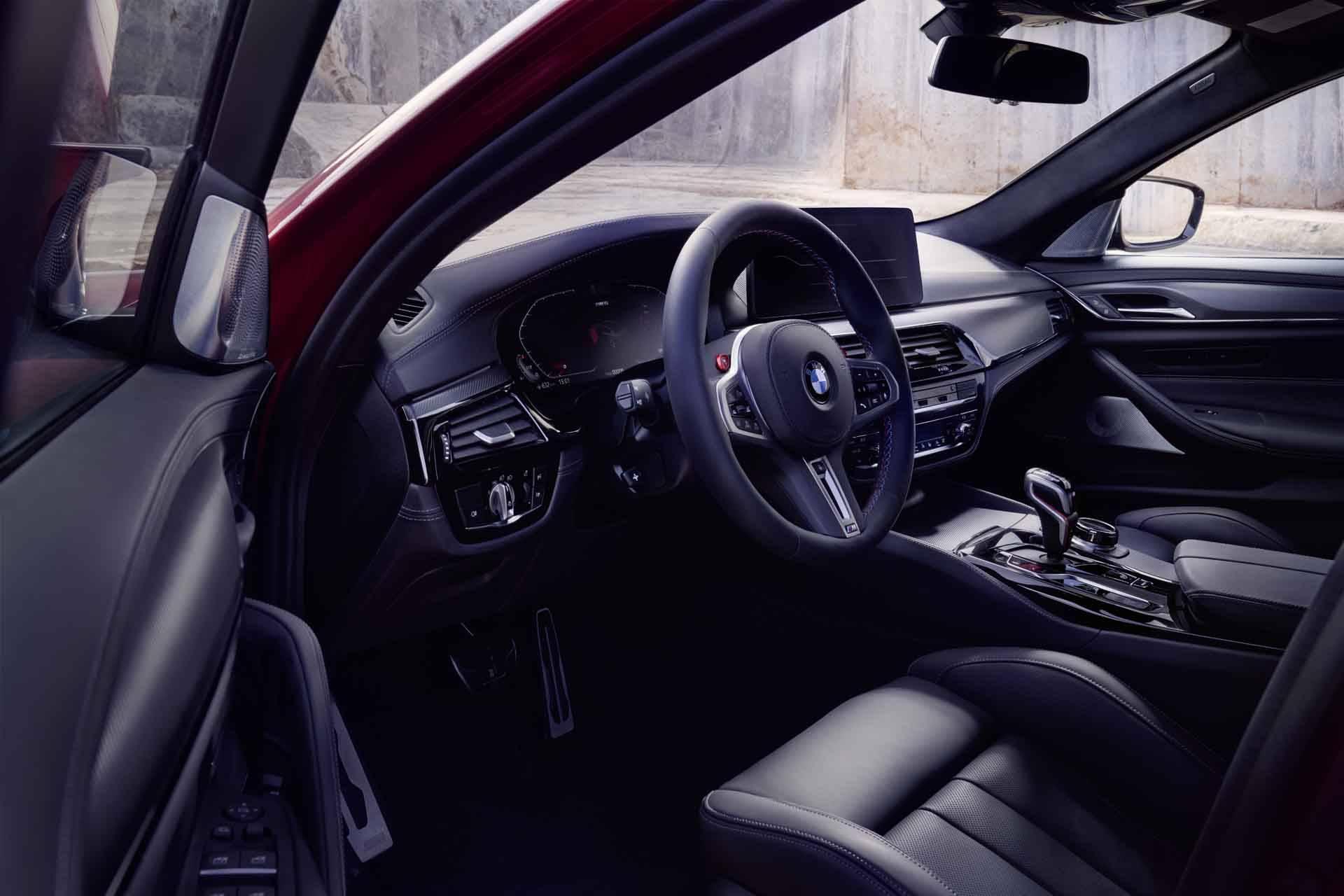 BMW M5 и BMW M5 Competition - рестайл F90 5