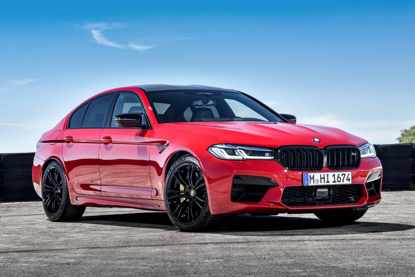 BMW M5 и BMW M5 Competition - рестайл F90 4