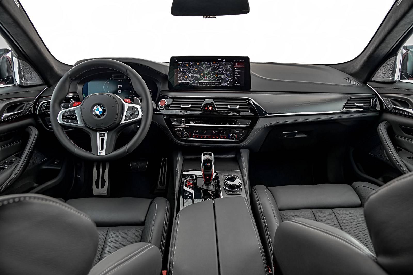 BMW M5 и BMW M5 Competition - рестайл F90 6