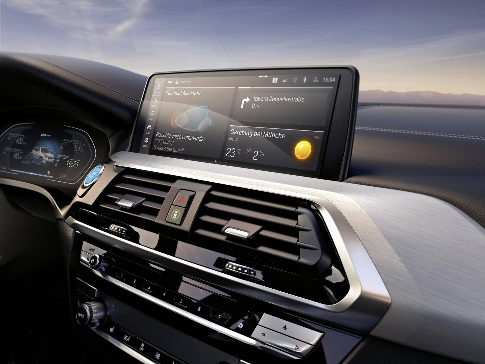 BMW iX3 G08 - первый электрокроссовер в семействе X3 4