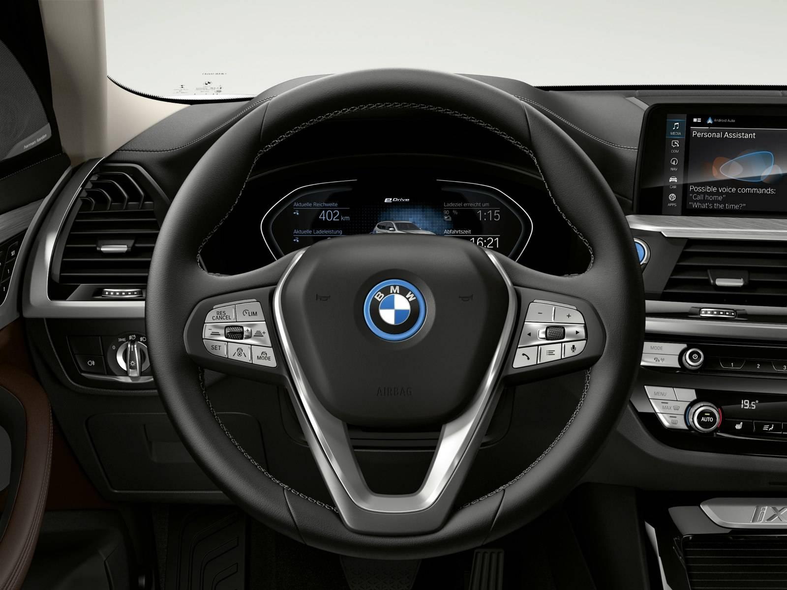 BMW iX3 G08 - первый электрокроссовер в семействе X3 5