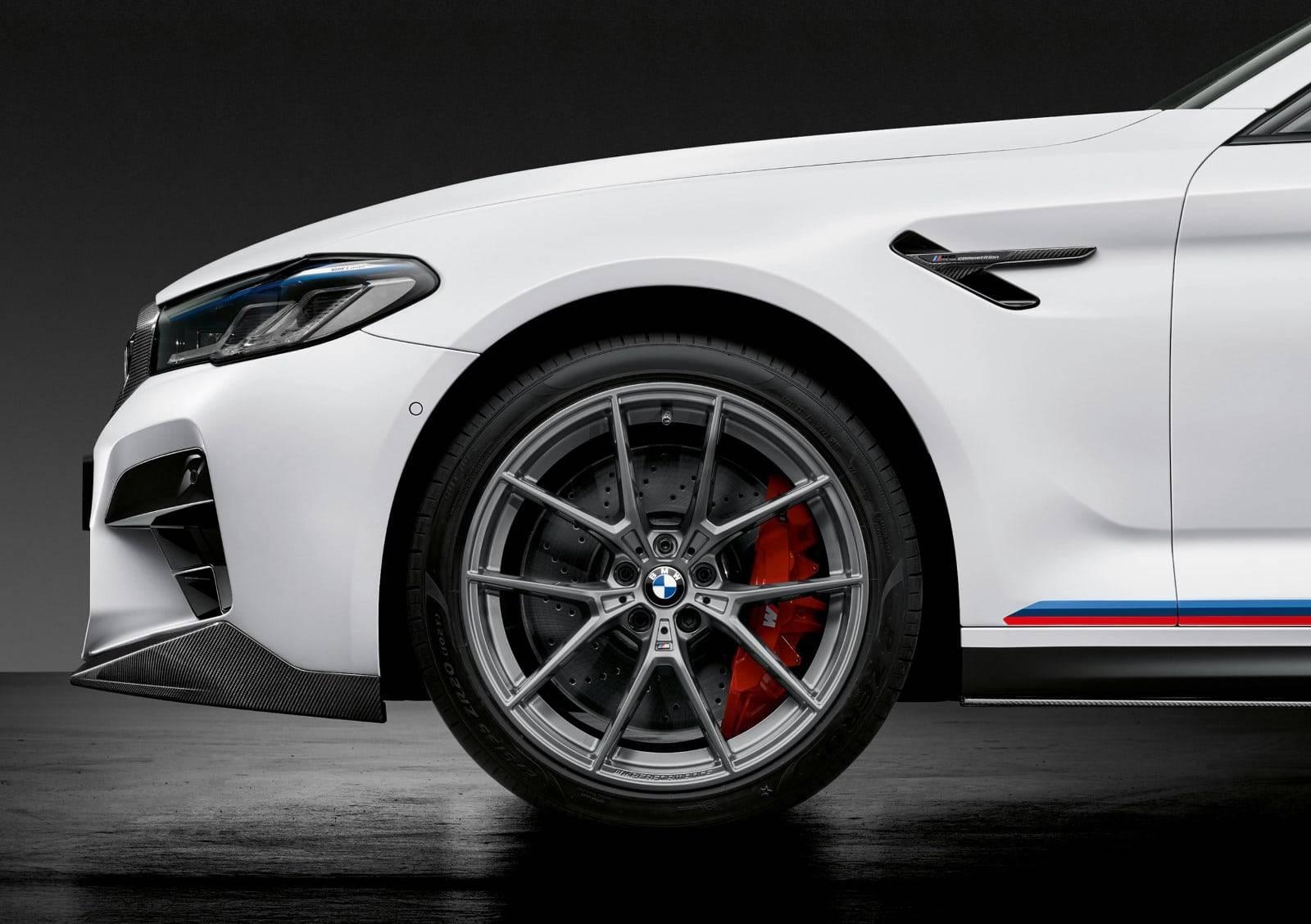 BMW M Performance для новых BMW 5, M5 и M5 Competition 5