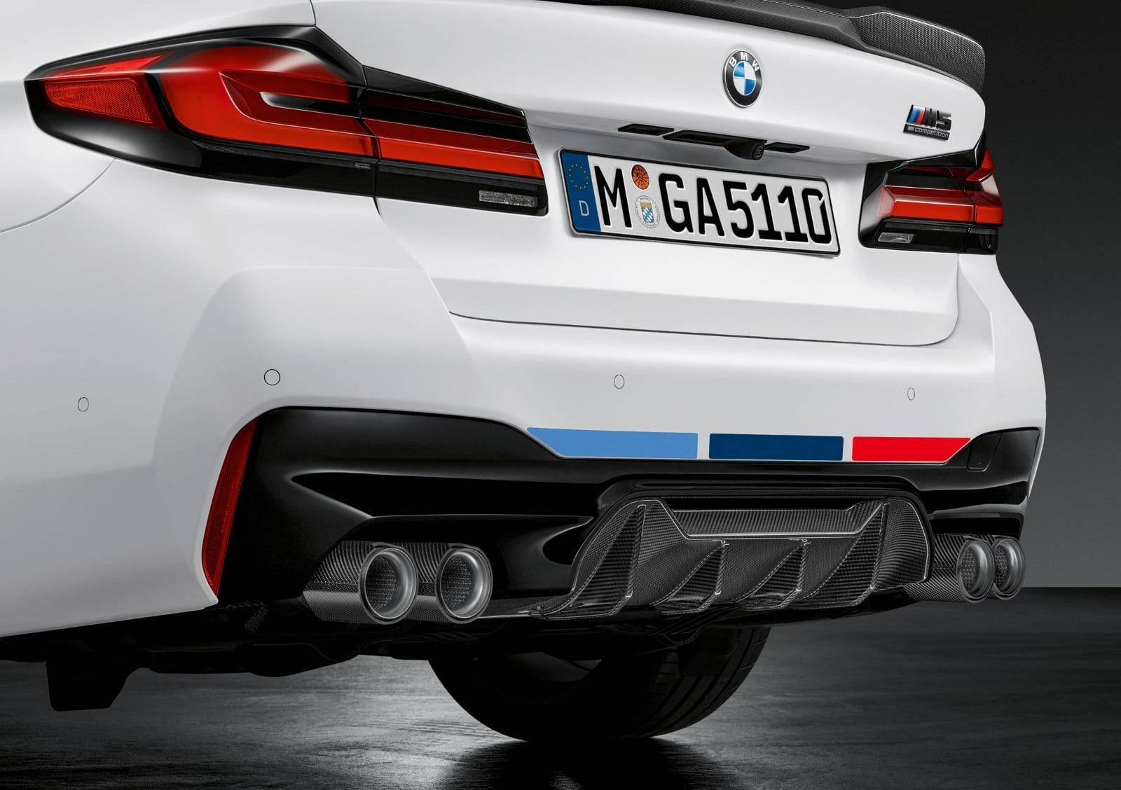 BMW M Performance для новых BMW 5, M5 и M5 Competition 7