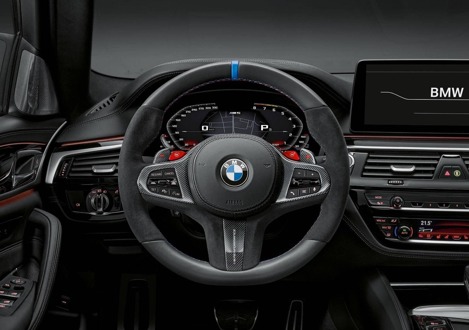BMW M Performance для новых BMW 5, M5 и M5 Competition 3