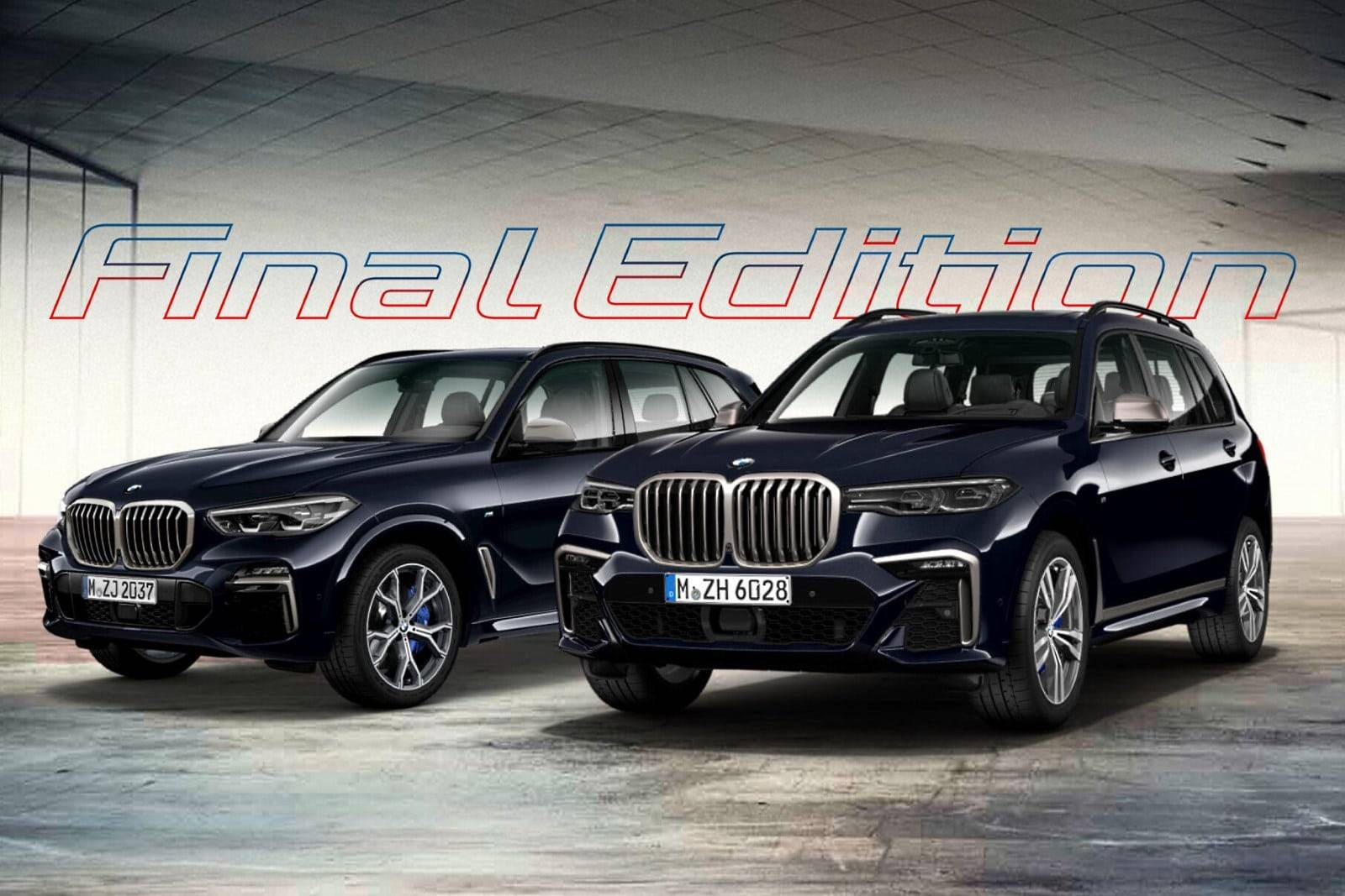 BMW X5 и X7 M50d Final Edition отмечают конец эпохи двигателя B57S 1