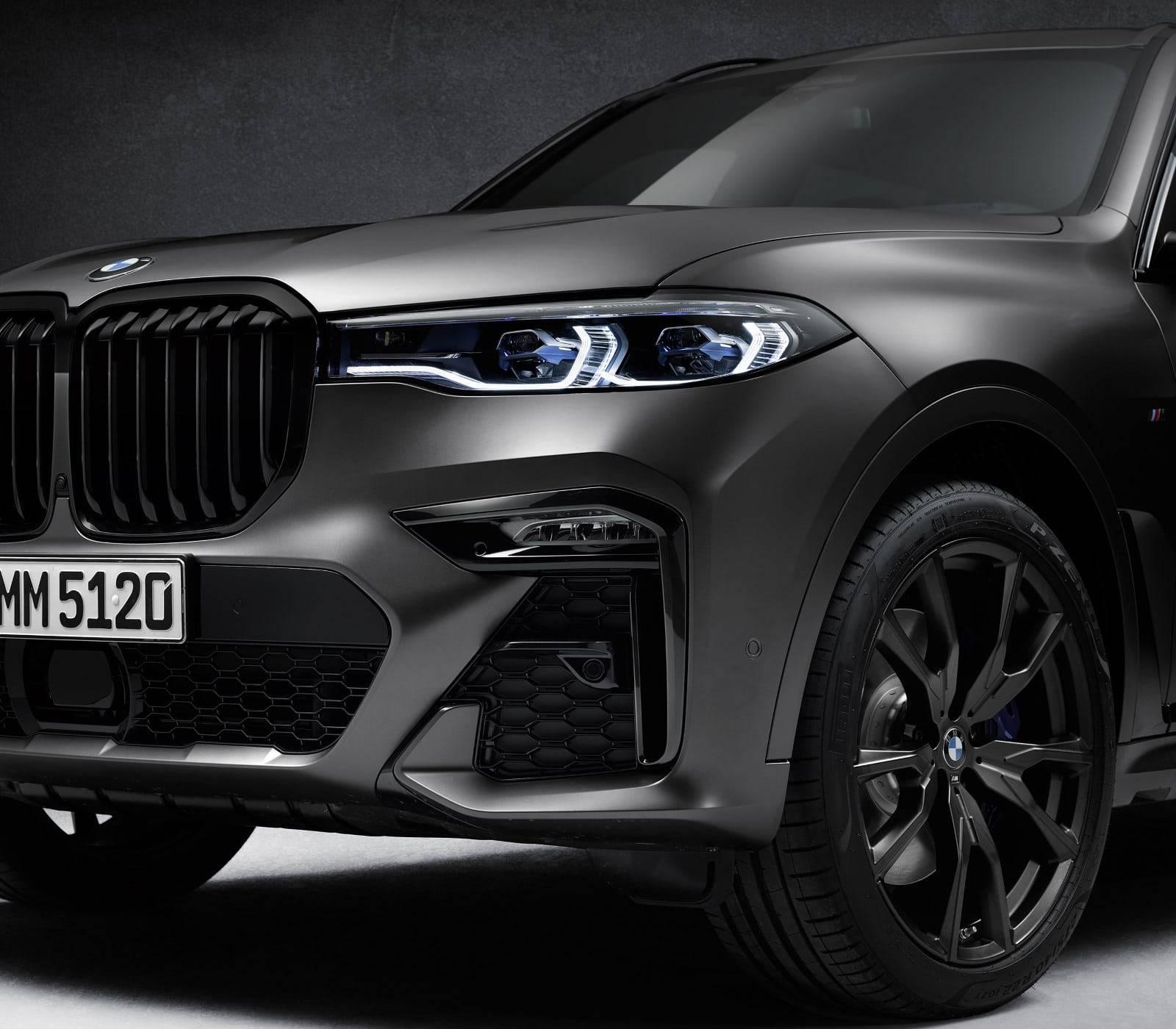 BMW X7 Dark Shadow Edition - впечатляющая харизма 5