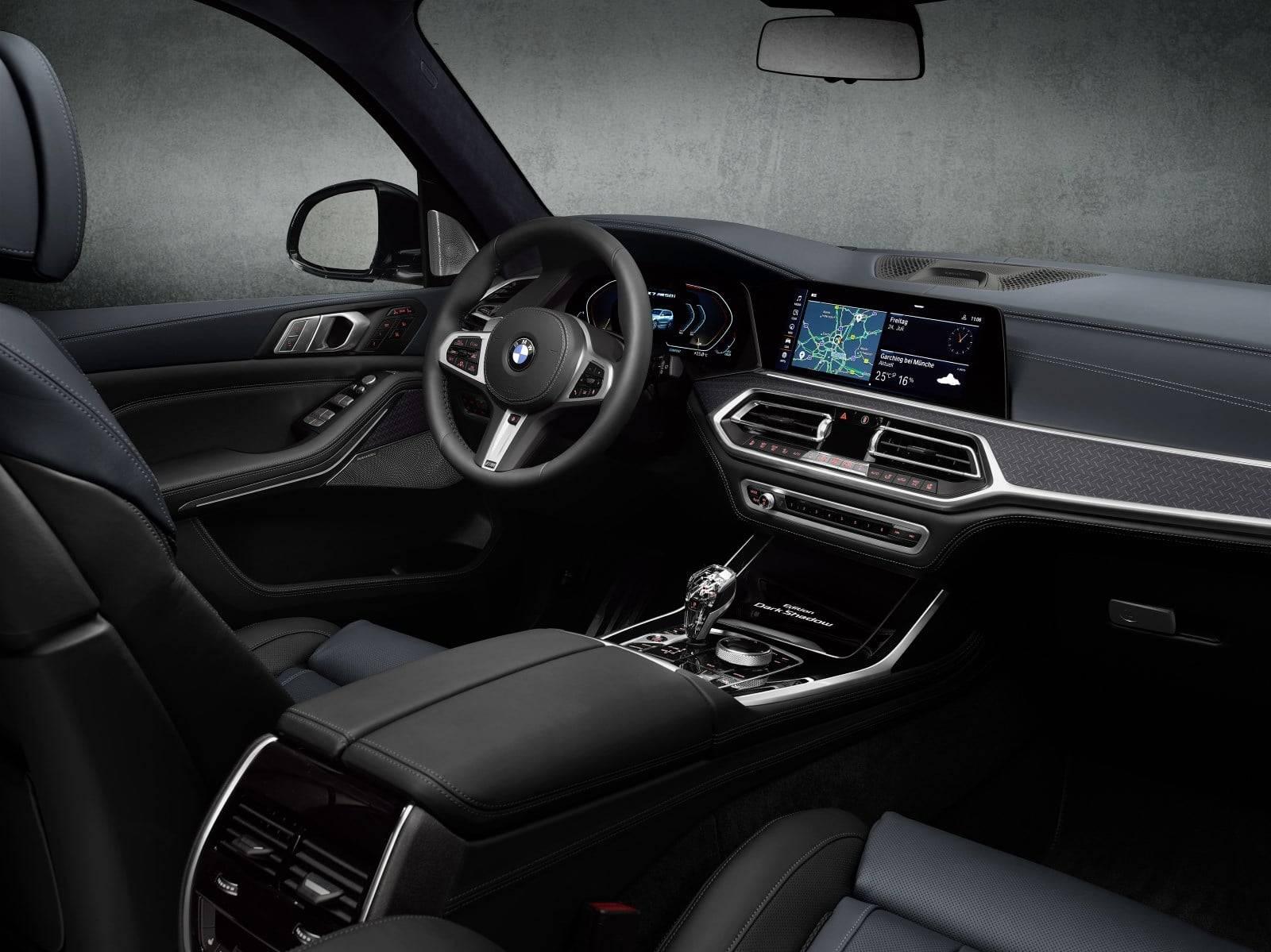 BMW X7 Dark Shadow Edition - впечатляющая харизма 7