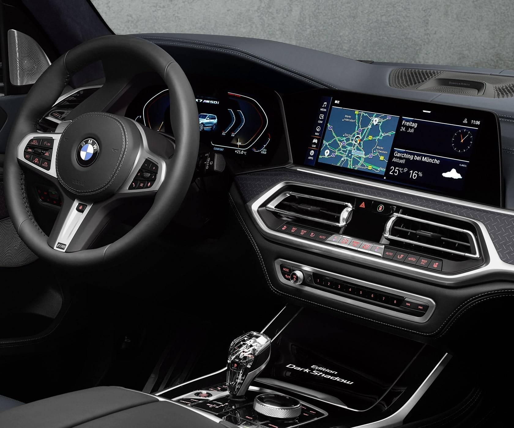 BMW X7 Dark Shadow Edition - впечатляющая харизма 8