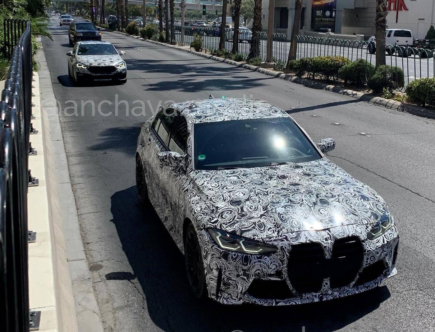 Новые BMW M3 G80 и M4 G82 снимают маски накануне премьеры 1