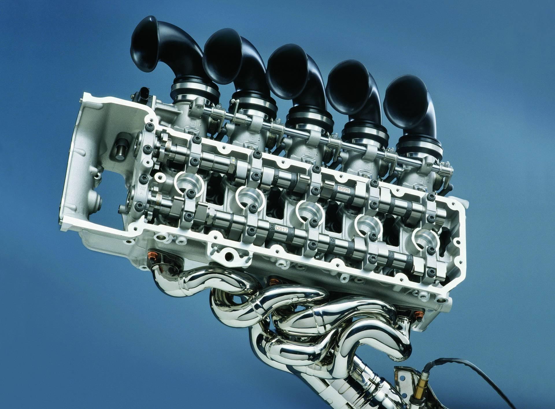 Двигатель BMW S85 V10 - легендарный мотор из Баварии 5