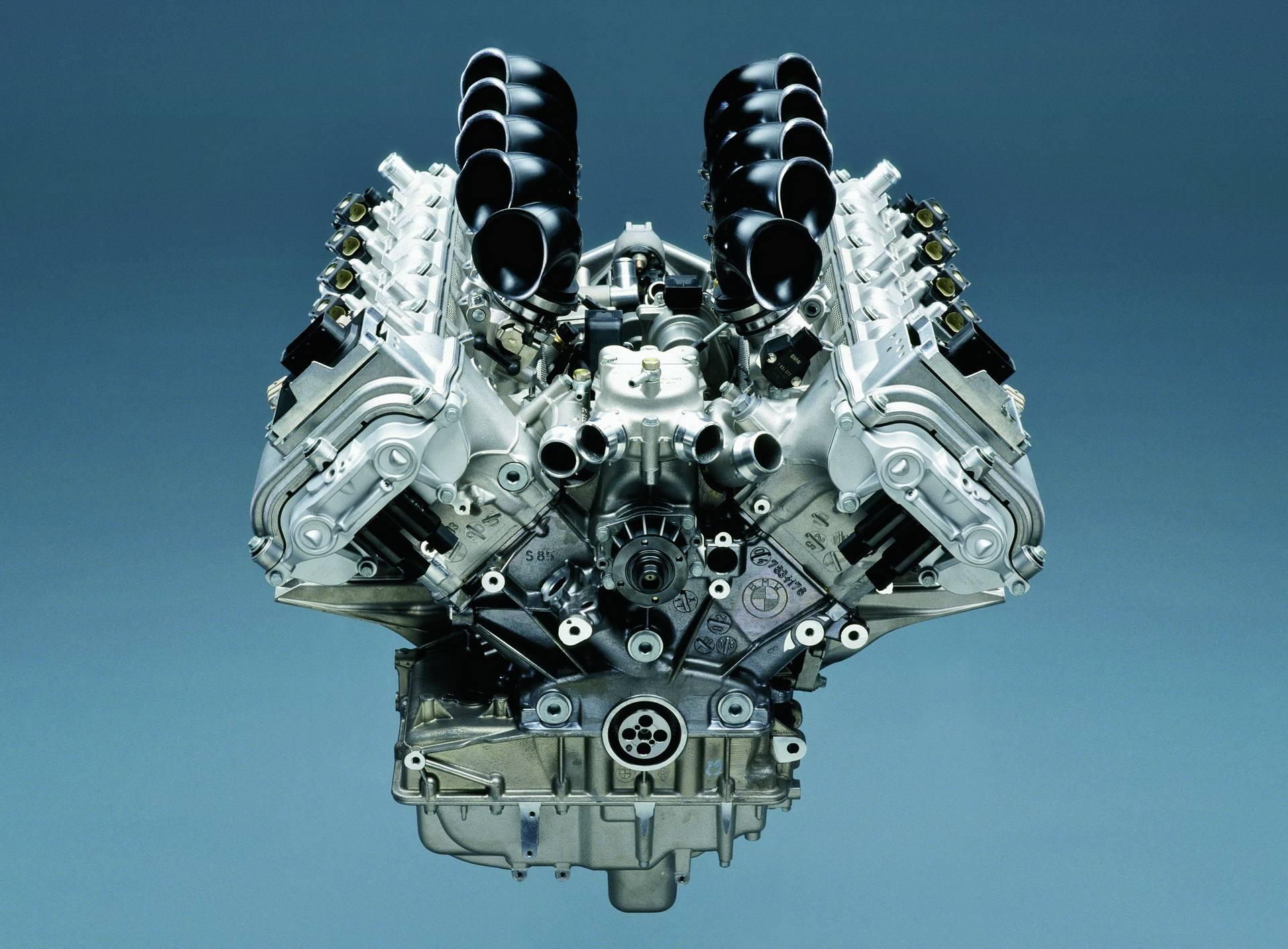 Двигатель BMW S85 V10 - легендарный мотор из Баварии 7