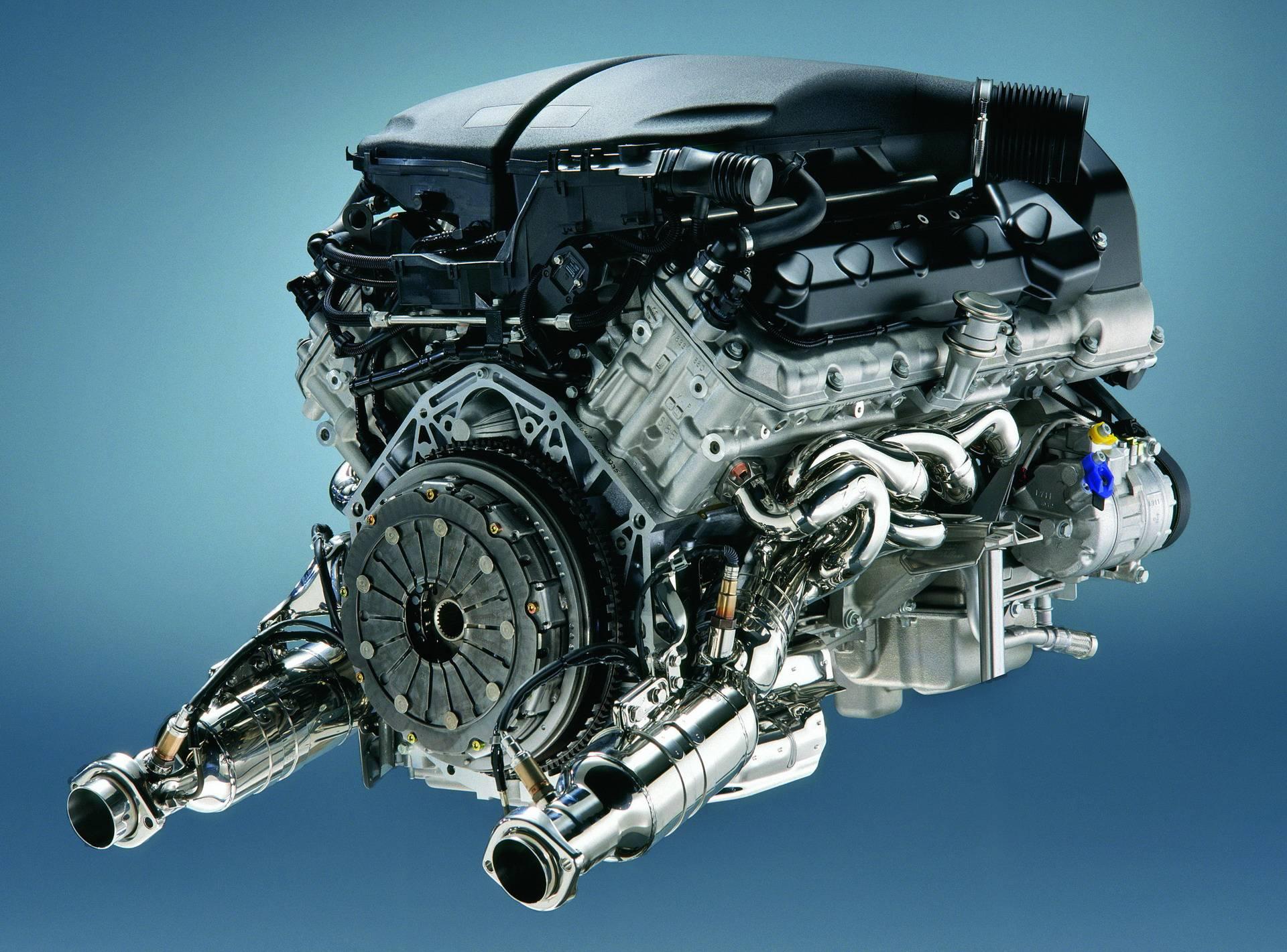 Двигатель BMW S85 V10 - легендарный мотор из Баварии 8