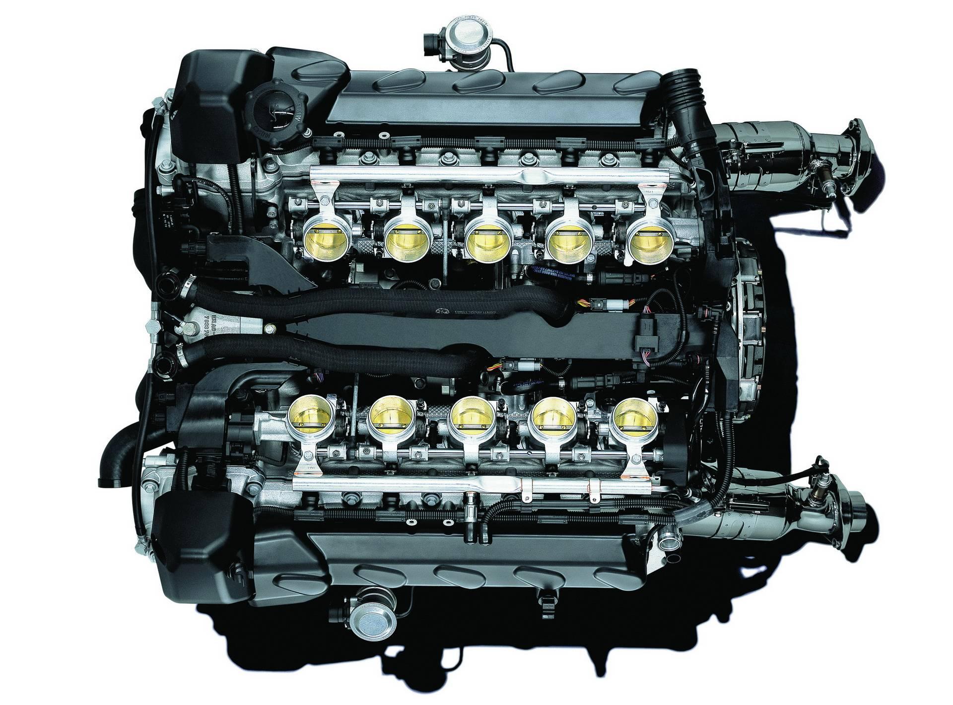 Двигатель BMW S85 V10 - легендарный мотор из Баварии 9